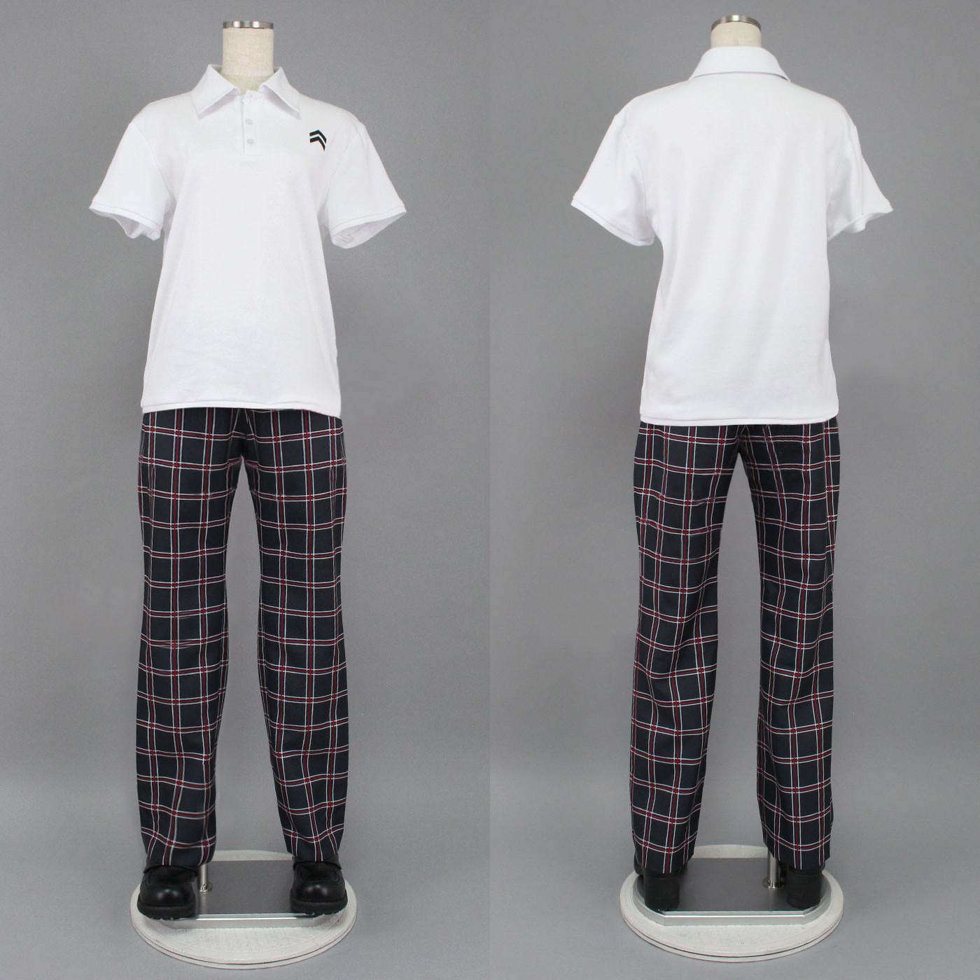 Persona 5 Amamiya Ren Joker Summer Outfit Cosplay Costumes