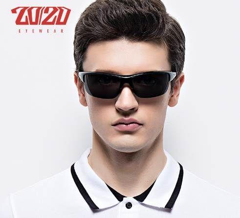 e6c2bfa1200 20 20 Brand Design Classic Black Polarized Sunglasses Men Vintage Square  Lens Sun Glasses Male Driving Eyewear Gafas PL289 Male Sun Glasses Oculos  De Sol ...