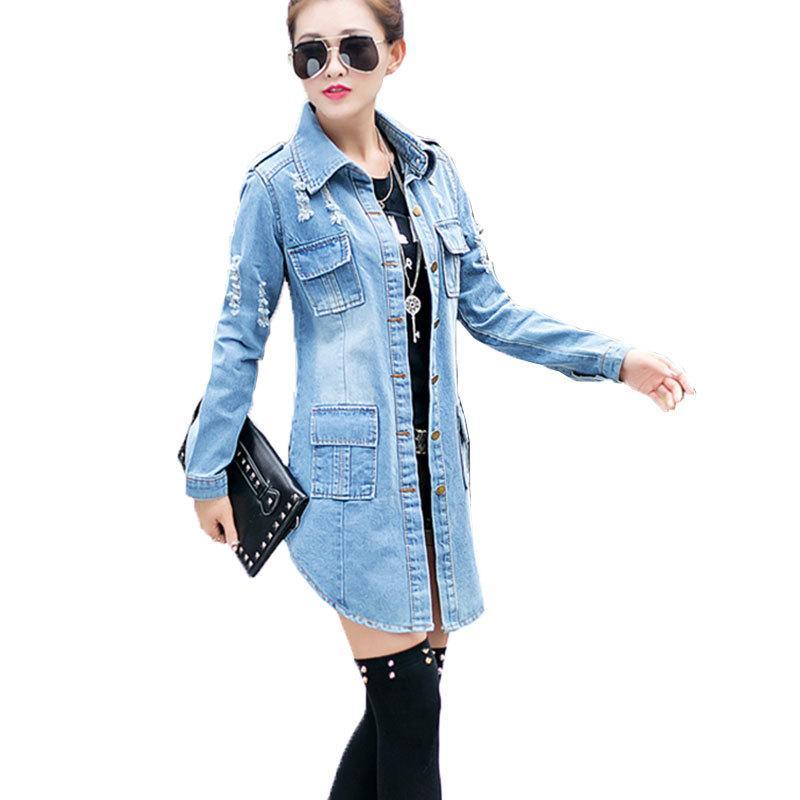Jacken & Mäntel Mode Batwing Hülse Lose Jeans Jacke Frauen 2018 Neue Sping Denim Baseball Jacke Casual Streetwear Bomber Jacke 7 Farbe