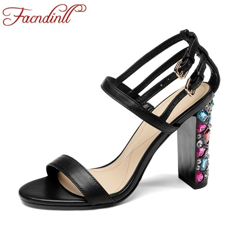 5cd1d0e77 Wholesale Summer Fashion Ssandals New 2018 Women Sexy Super High Heels Open  Toe Rhinestone Heel Shoes Ladies Office Dress Shoes Woman Woman Shoes Shoes  ...