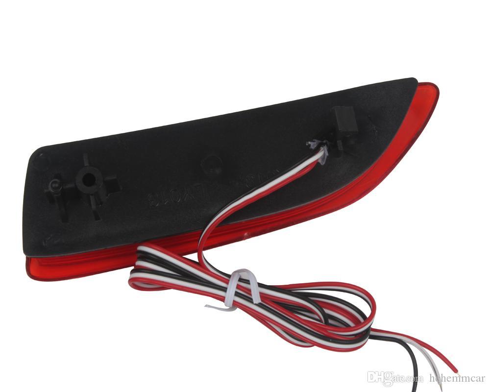 HEHEMM 110 LED Rosso Paraurti Posteriore Riflettore Coda Arresto freno In esecuzione Girando la luce della lampada Corolla 2011-2013