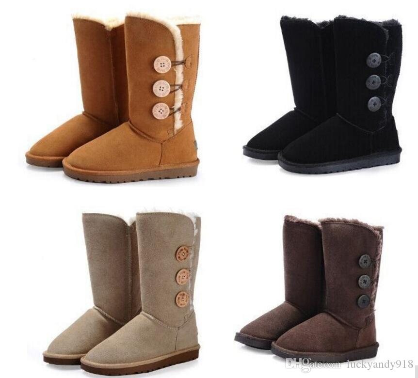 17d7b35602c3 NEW Australia Brand Women Boots Snow Boots UGG Wool Women Shoe Cute Winter  Snow Boots  825 Fashion Shoes Winter Shoes From Luckyandy918