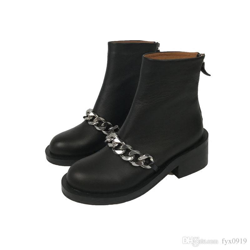 Acquista Stivali Invernali Da Donna Punk Con Tacco Alto 4e9527c0f22