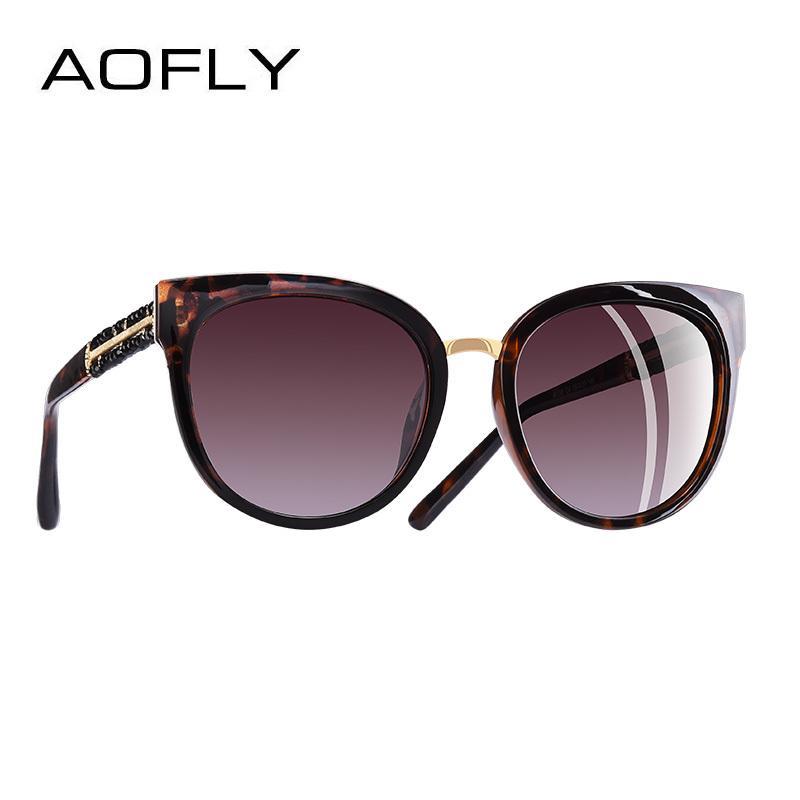 fcab2f19fff AOFLY BRAND DESIGN Hand Made Luxury Cat Eye Sun Glasses For Women Polarized Sunglasses  Goggles UV400 A138 D18101302 Sun Glasses Eyewear From Yizhan03