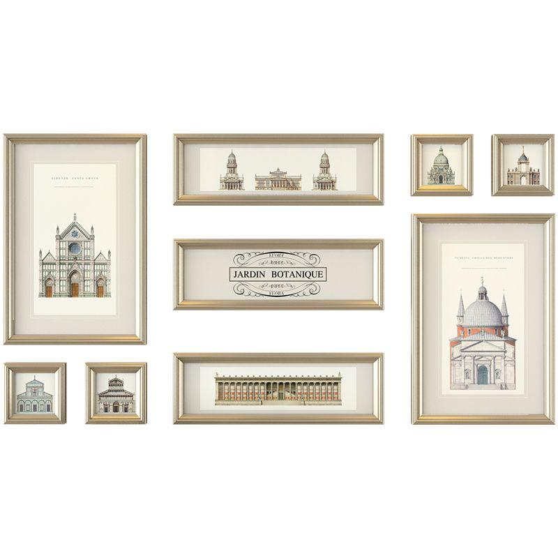 America Style Living Room Wall Photo Frame Set Wedding Decor Vintage ...