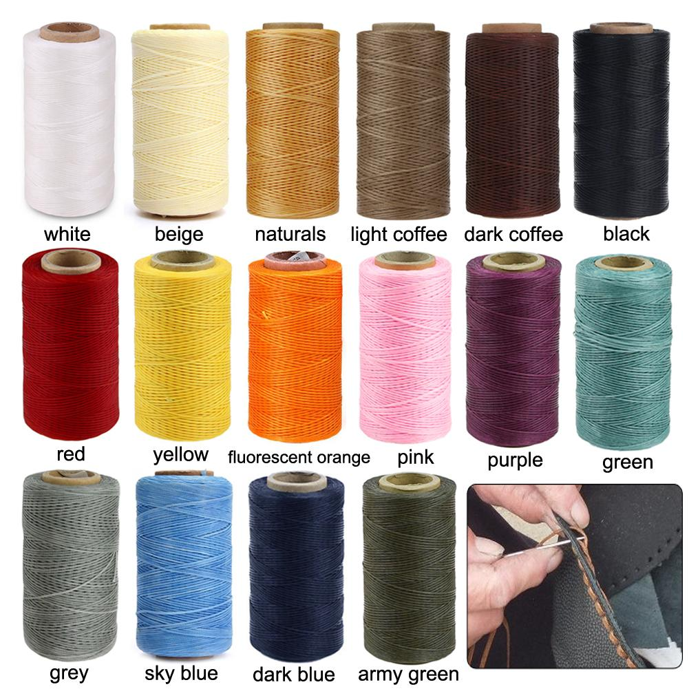 WITUSE Good Quality 260M 150D 1MM Leather Sewing Waxed Thread Hand  Stitching Craft Cords For Chisel Awl Upholstery Shoes Luggage