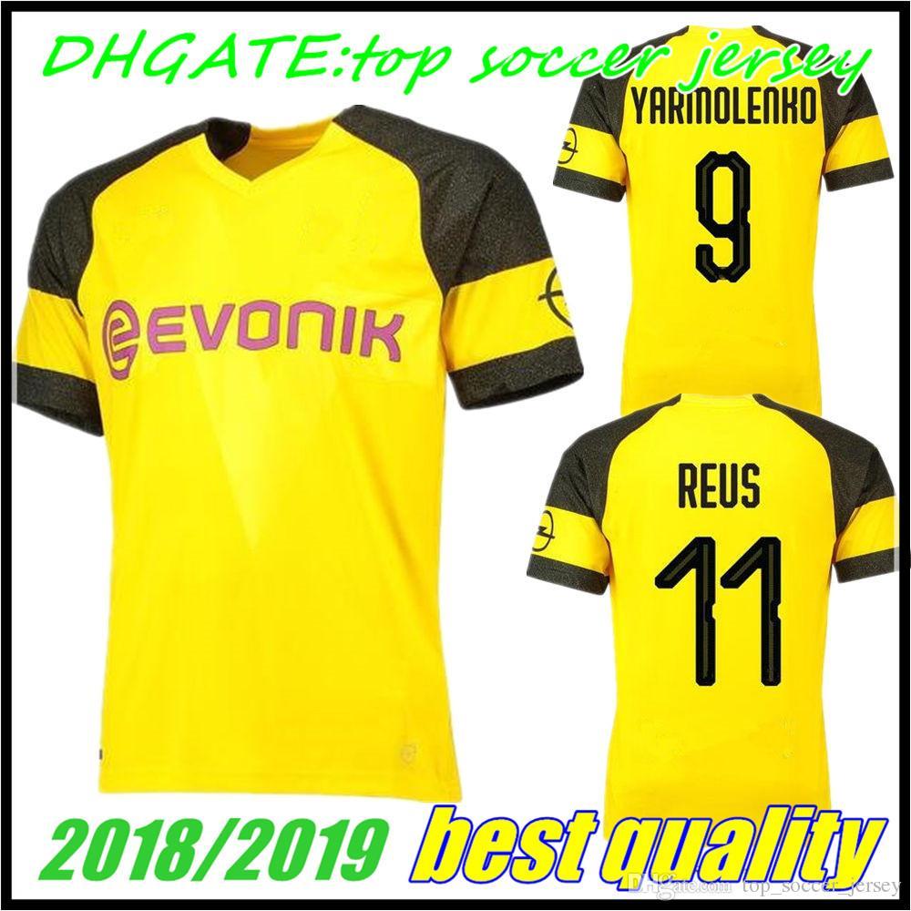 Mens 2018 2019 PULISIC Soccer Jersey 18 19 Home BATSHUAYI GOTZE ... b7dd98838