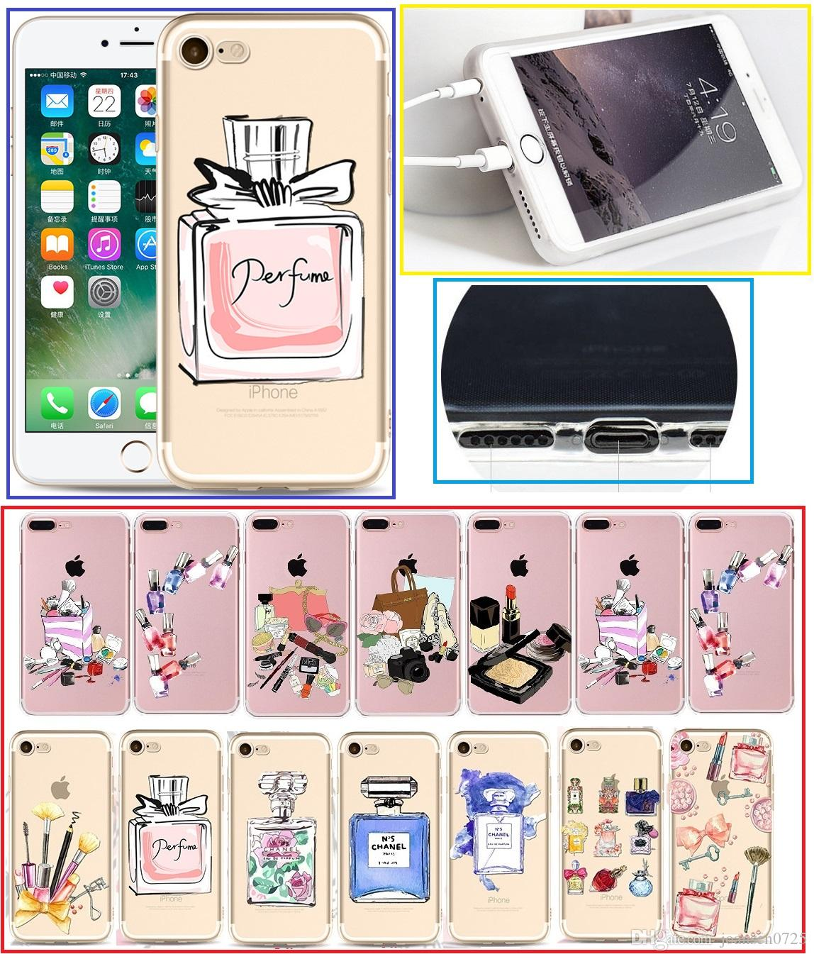 For iphone X cases fashion make up TPU painted Cell Phone Cases soft silicone back protective phone shell cover for iphone 5S 6S 7 8 Plus