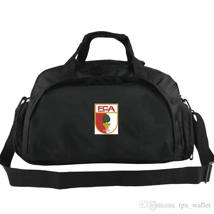 Augsburg duffel bag FC A club tote Football Fuggerstadter backpack Exercise luggage Soccer sport shoulder duffle Outdoor sling pack