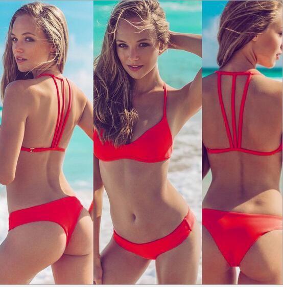 be81c052dfc35 2019 Hot Sell Sexy Two Pieces Bikini Swimwear Female Split Swimsuit  Brazilian Bikinis Set With Pad Beach Wear Bathing Suits Bikini From  Dfbeauty