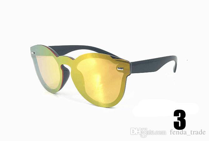 KEDI SUNGLASSES YAZ CYCLING UV400 Yuvarlak Siyam Güneş Gözlüğü Erkek kadın moda gözlük 2018 yansıtacak UV400 Güneş Gözlüğü 8 renkler HıZLı SıCAK EMS