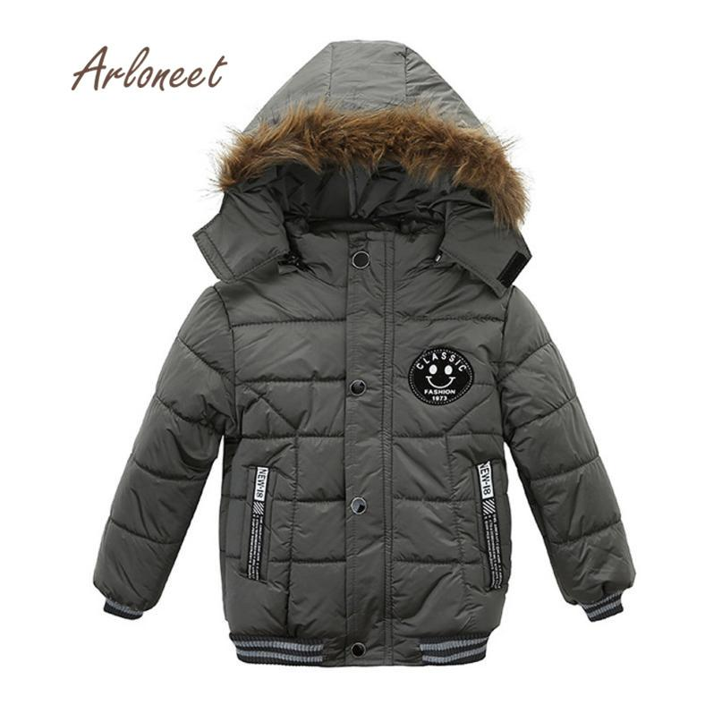 9cf501a5fa46 2017 Baby Girl Clothes Fashion Kids Coat Boys Girls Thick Coat ...
