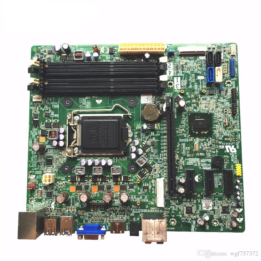 Para Dell XPS 8500 Vostro 470 Desktop Motherboard CN-0NW73C NW73C Intel QS77 Chipset LGA1155 DH77M01 Systemboard
