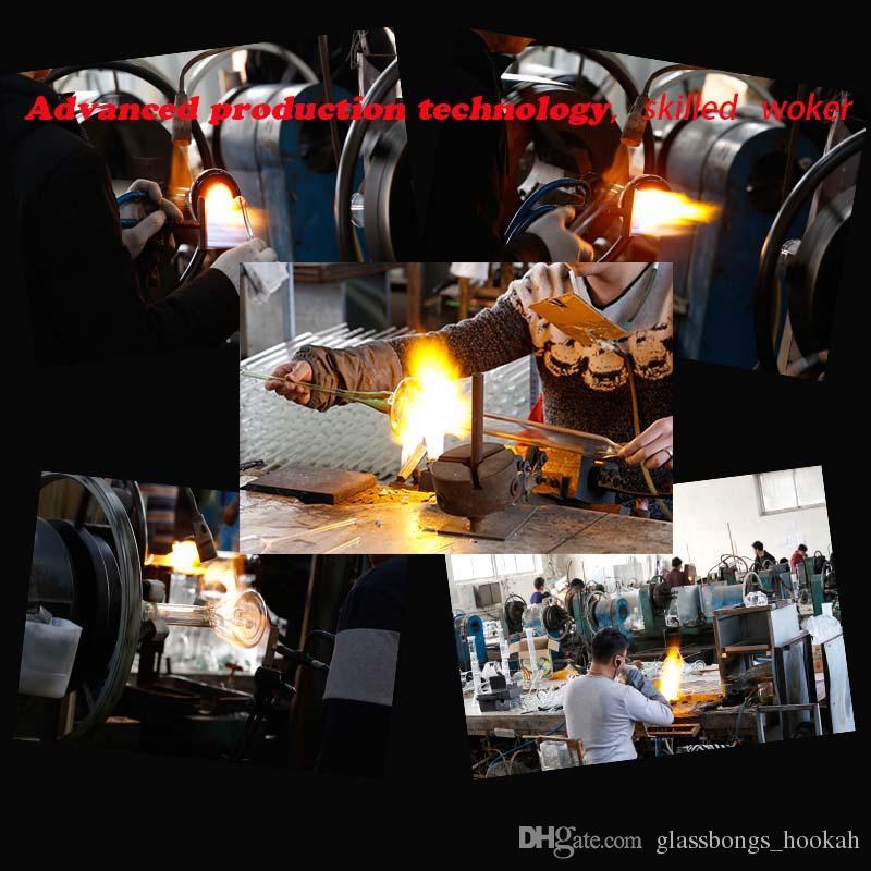 Уникальный Hitman стекла бонги классический блеск торт Dab буровые установки толстые Птичья клетка ресайклер нефтяной вышки оптовые водопроводные трубы с 14 мм совместных