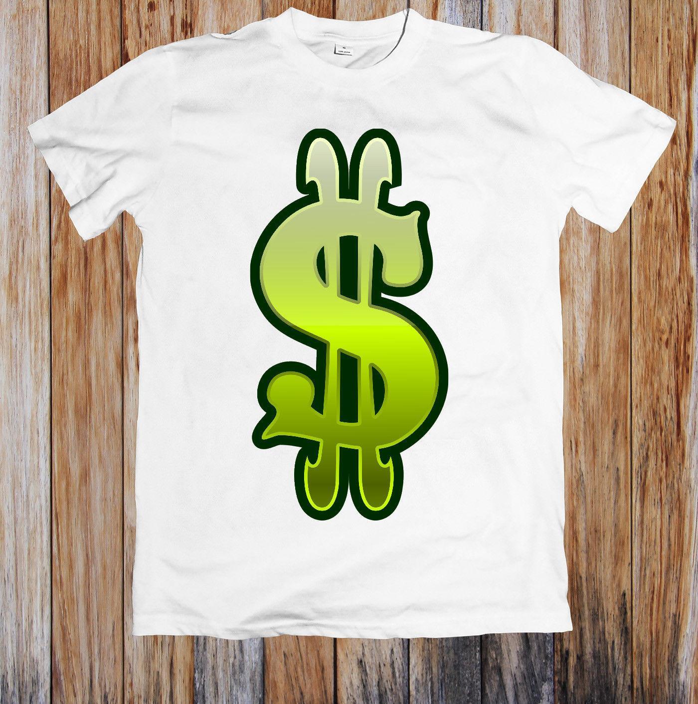GREEN SLOT MACHINE DOLLAR SIGN UNISEX T-SHIRT size discout hot new tshirt
