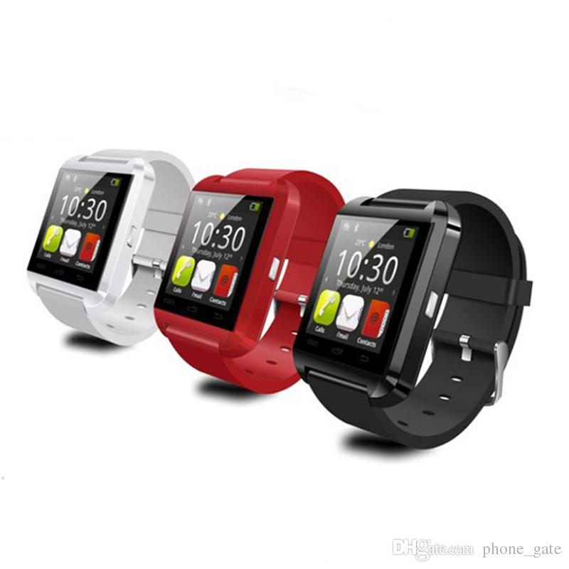Smart Watch U8 Wrist Smartwatch For IOS For iPhone 4 5 6 6S 6 plus Samsung Android Wristband Gift Bluetooth Pedometer Smart Phone