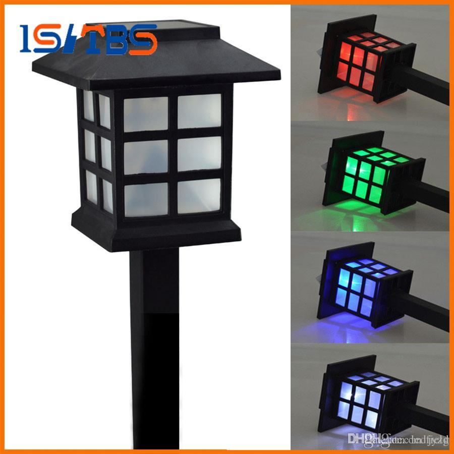 Waterproof Cottage Style Led Solar Garden Light Outdoor Path Lawn Post Lamps Decoration Landscape Lighting From China Dhgate Com