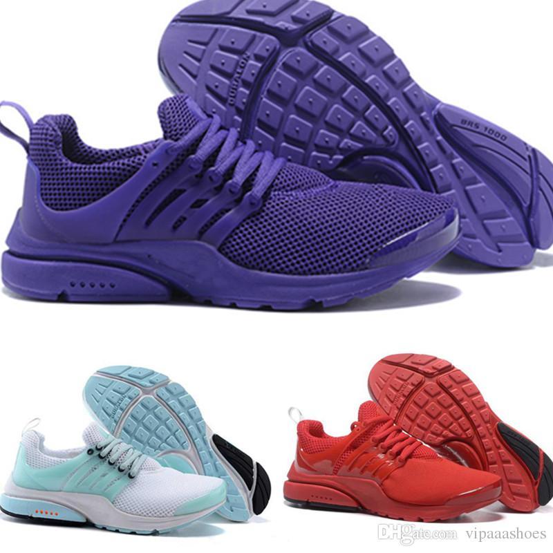 new styles 33d59 2734f Nike Air Presto Ultra Descuento Zapatos Corrientes Para Hombre Mujer Presto  Ultra Runner Triple Negro Blanco Correr Olímpico Casual Zapatos Para Hombre  ...