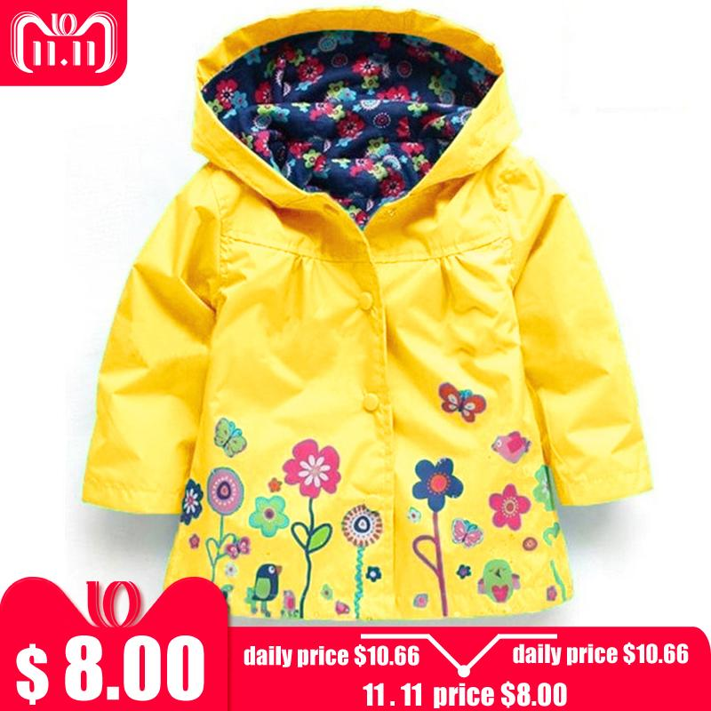 5f901173f Baby Girls Jacket 2018 Autumn Winter Jackets For Girls Windbreaker Boys  Kids Outerwear Coats For Raincoat Children Clothes Childs Jacket  Lightweight Jackets ...