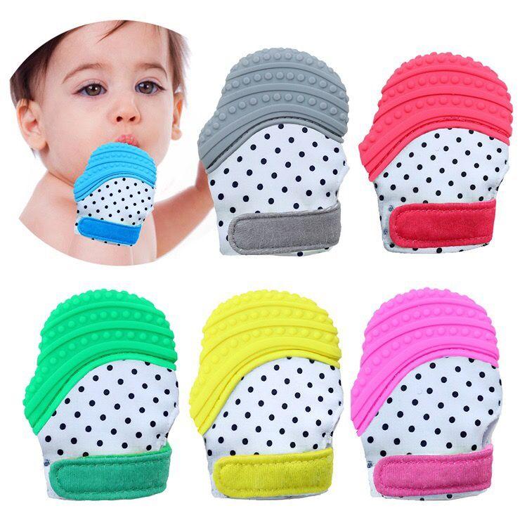 Feeding Reasonable Baby Teething Mitten For Babies Self-soothing Pain Relief And Teething Glove Bpa Free Safe Food Grade Teething Mitt Mother & Kids