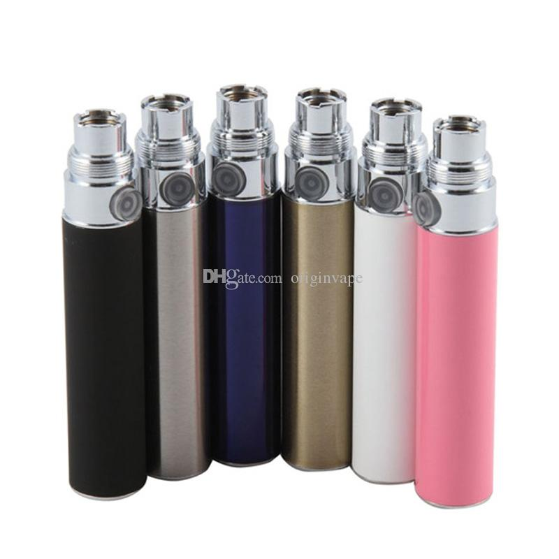 EGo eGO-T Battery 650mah 900mah 1100mah Polymer Lithium Batteries 510 Thread For Electronic Cigarette CE4 CE5 CE6 H2 MT3 CE3