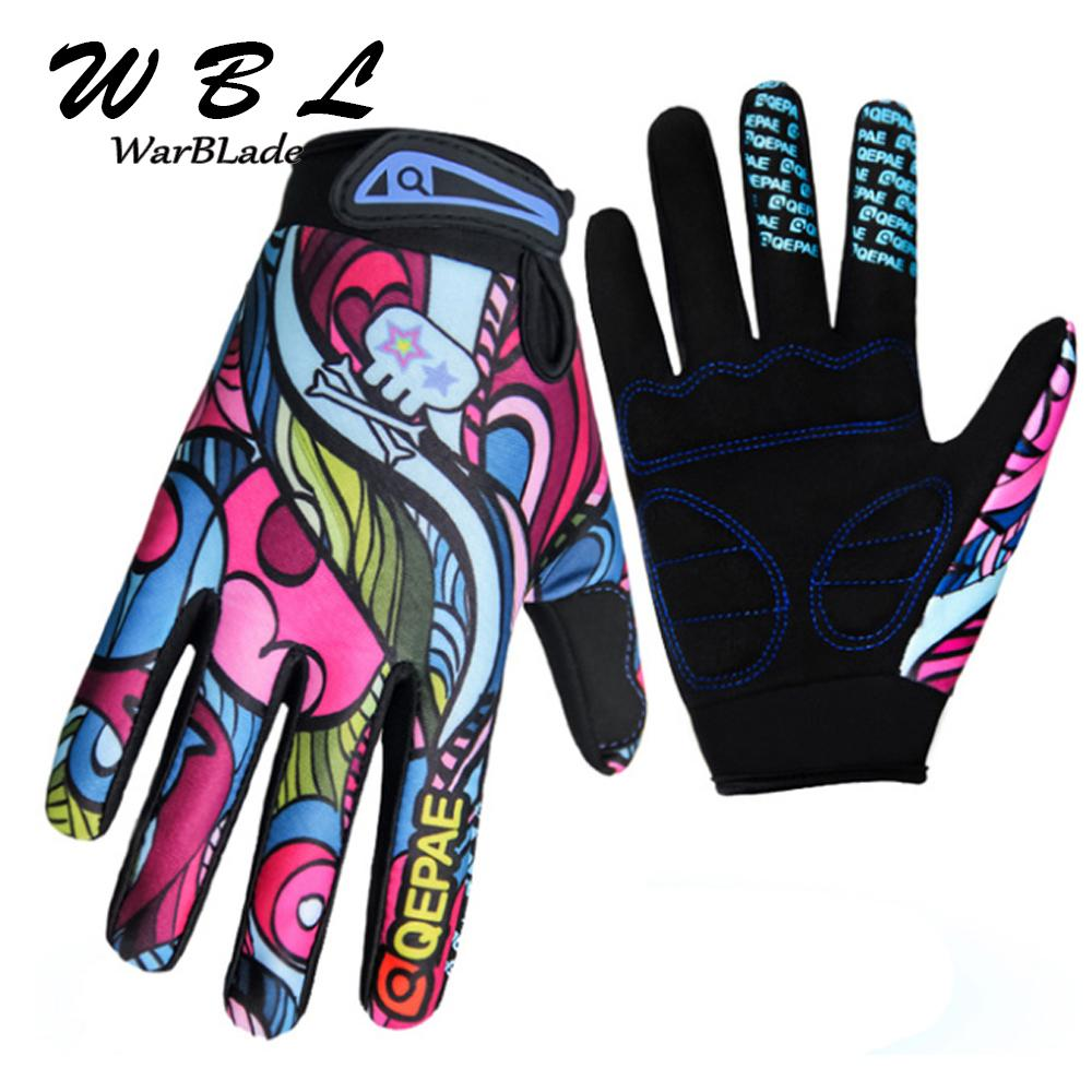 2019 Warblade Fashion Kiss Screen Gloves Gym Sport Full Finger