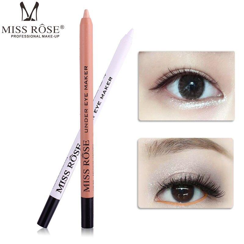 Brand Under Eye Makeup Pencil Pigment White Nude Pink Waterproof