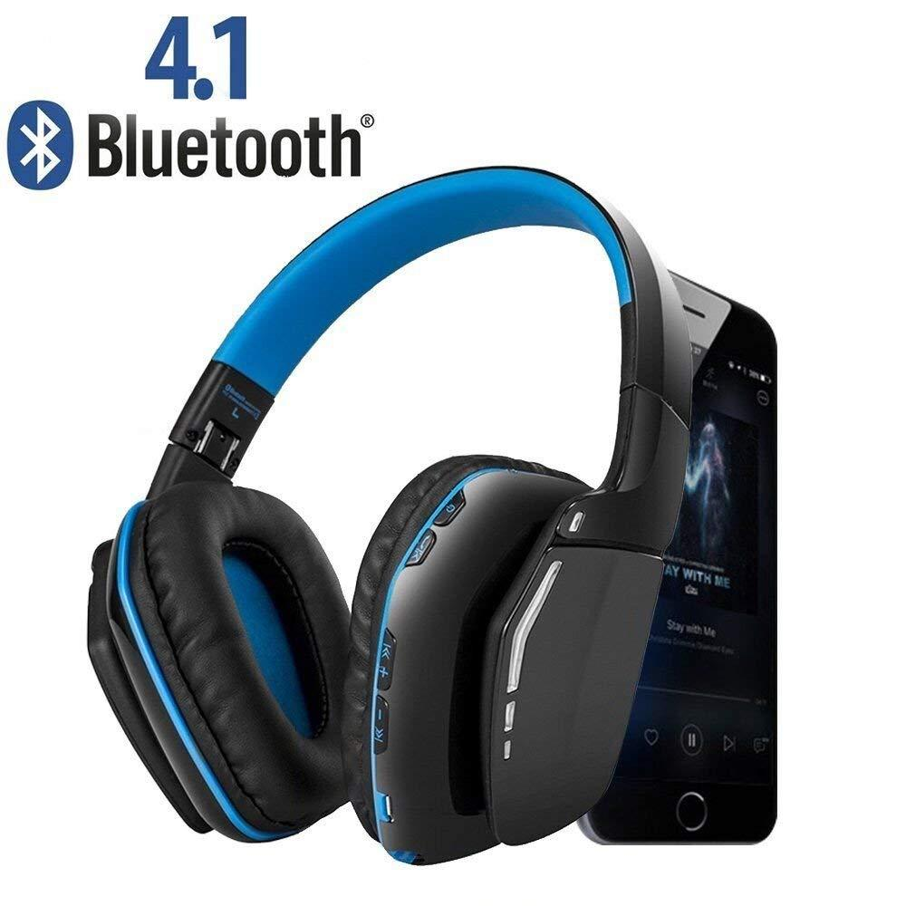 New Foldable Bluetooth Headphones Over Ear Hi Fi Stereo Wireless Headset  Soft Earmuffs With Mic And Wired Mode For PC Cell Phones TV Best Wireless  Earbuds ... b08db25a4da0a