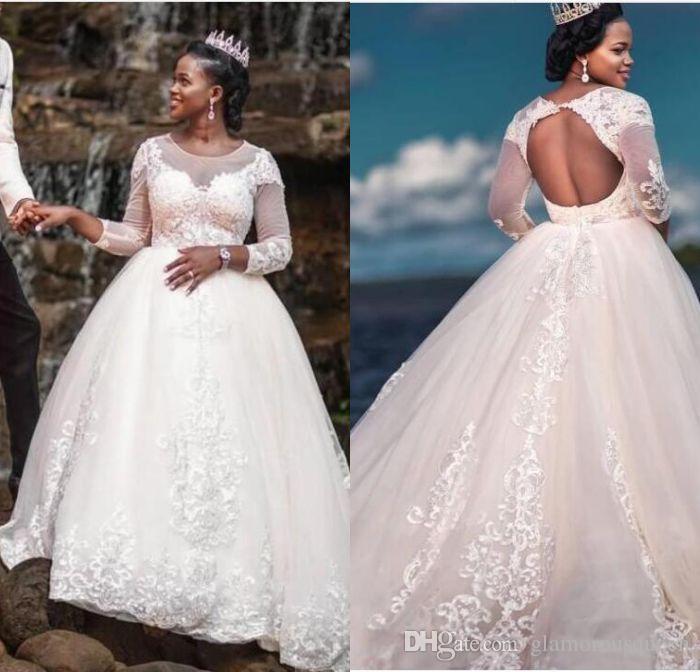 compre vestidos de boda del tamaño extraterrestre sudafricano sheer