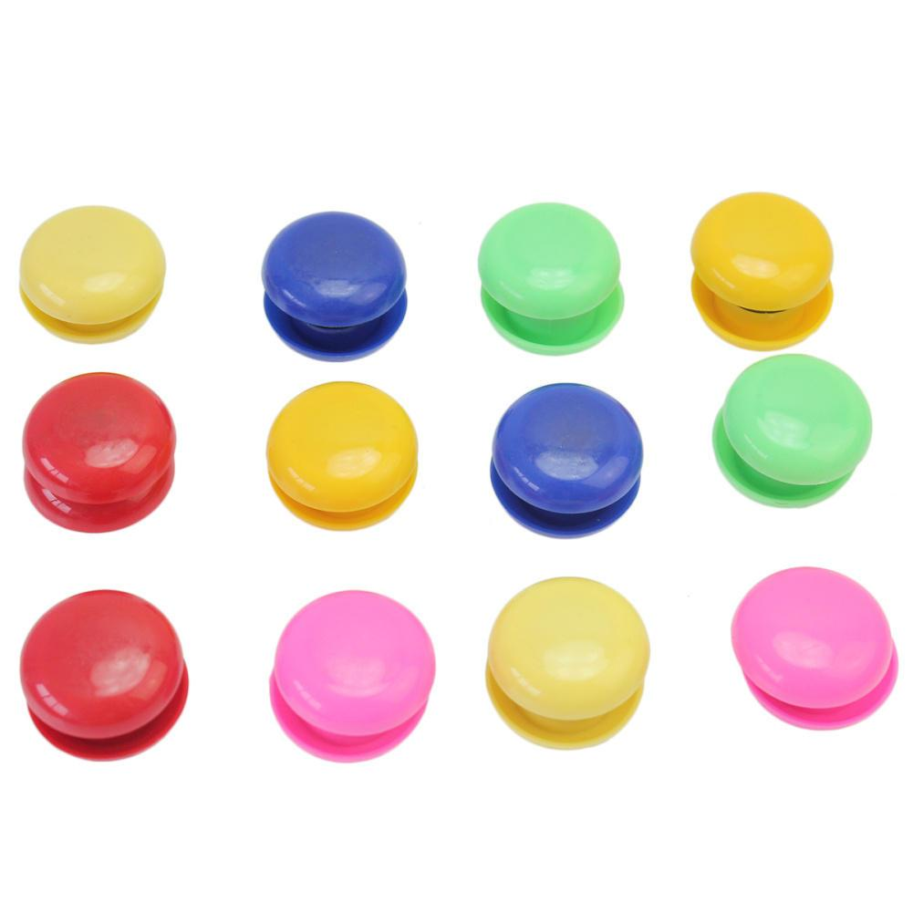 round design refrigerator fridge whiteboard diy magnets buttons home