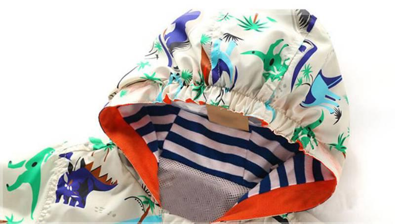 90-120cm Cute Animal Kids Clothes Boys Spring Sports Active Outerwear & Coats Comfortale Dinosaur Boys Jacket For Children