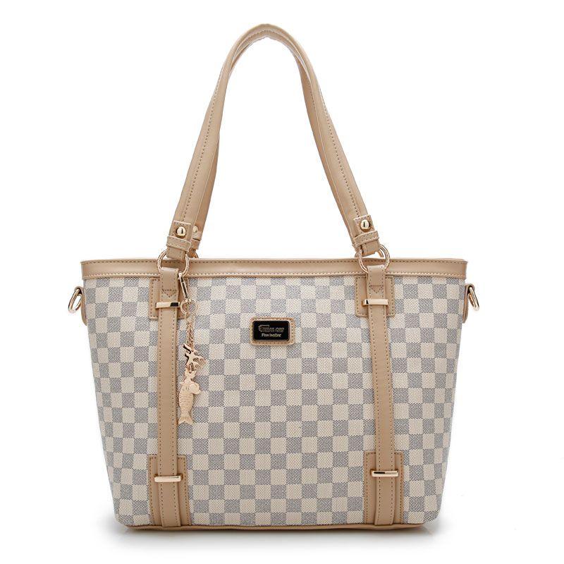 493284cc773 Hot Sale 2017 New Fashion Big Bag Women Shoulder Messenger Bag Ladies  Handbag Luxury material PVC Ladies Party Shoulder Bags