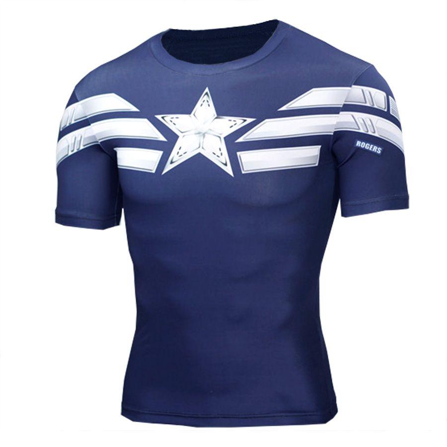 5803a0c1 2018 T Shirt Superman/Batman/Spider Man/Captain America /Hulk/Iron Man / T  Shirt Men Fitness Shirts Men T Shirts Order Tee Shirts T Shirt With Design  From ...