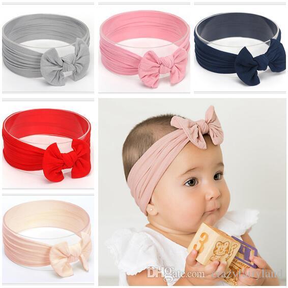 Designer Handbags Hair Bows Newborn Head Wrap Warm Bow Hairband Hair Band  Baby Kids Party Hair Bow Baby Accessories Best Gifts Hair Accessories Girls  ... 0c403bbbbbd