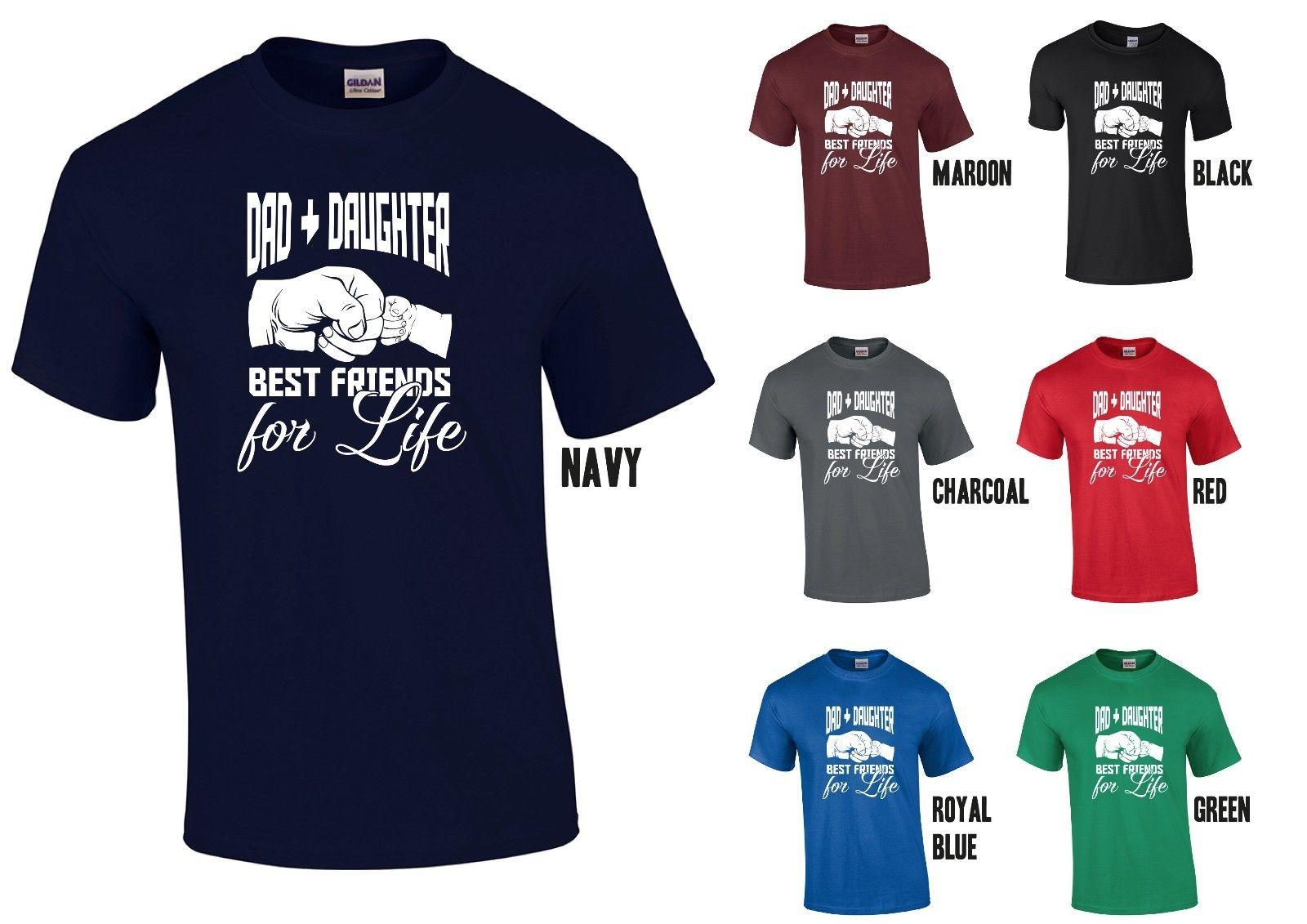Großhandel Dad Tochter Beste Freunde Für Das Leben T Shirt Papa Vatertag  Geburtstag T Shirt Von Shirtifdesign,  11.01 Auf De.Dhgate.Com   Dhgate fd6aa70b42