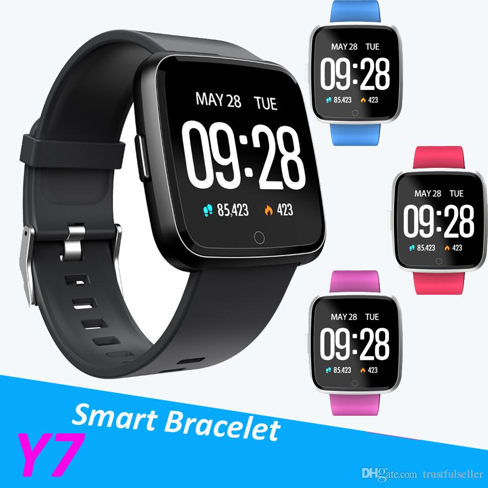 2ec05034aed37c ... Sport Tracker Watch Heart Rate Monitor Wristband Pk Fitbit Versa Ionic  Latest Wearable Technology Red Wristbands From Trustfulseller
