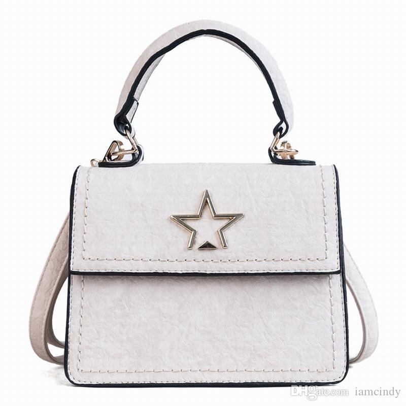 Handbag Stars Woman Leather Handbags Cute For Teen Girls High School  College Handbag White For Dress Duffle Bags Clutch Bags From Iamcindy cbff1db8ab37d