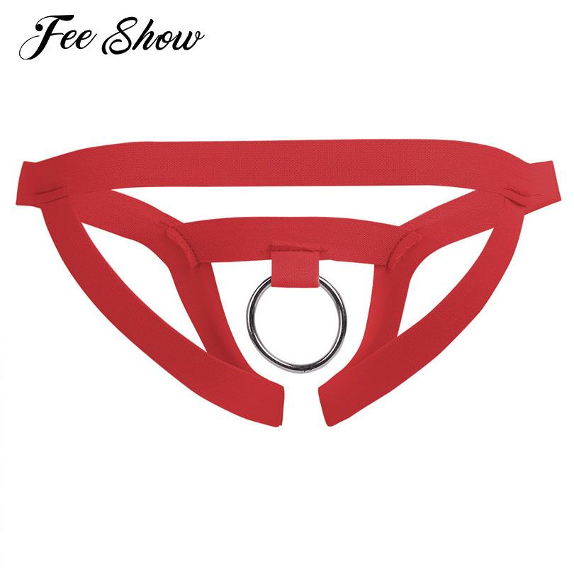 9c299c900fe Men Sexy Lingerie Crotchless Gay Underwear Sissy Panties With O Ring Men  Gay Sexy Lingerie Breathable G Strings Thongs Underwear S1015 Mens White  Briefs ...