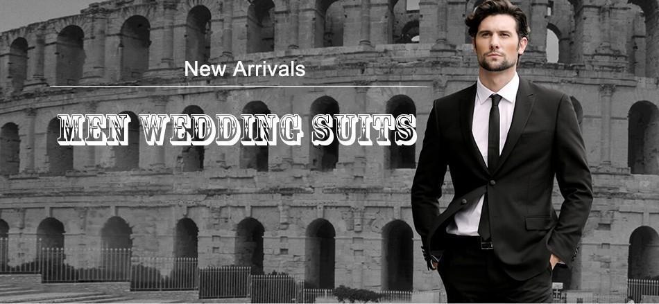 Latest Coat Pant Designs Custom Made White Formal Men Business Suit Groomsmen Groom Suits For Men Wedding Tuxedos 2018