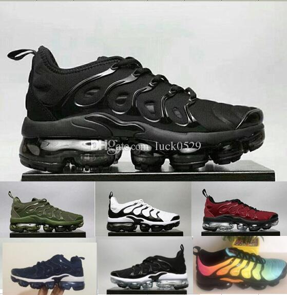 c480c9e91cb TN Plus VM In Metallic Olive Women Men Mens Casual Designer Shoes HOT SALE  2018 New Sneakers Brand Classic Shoes All Black White Casual Shoes For Men  Women ...