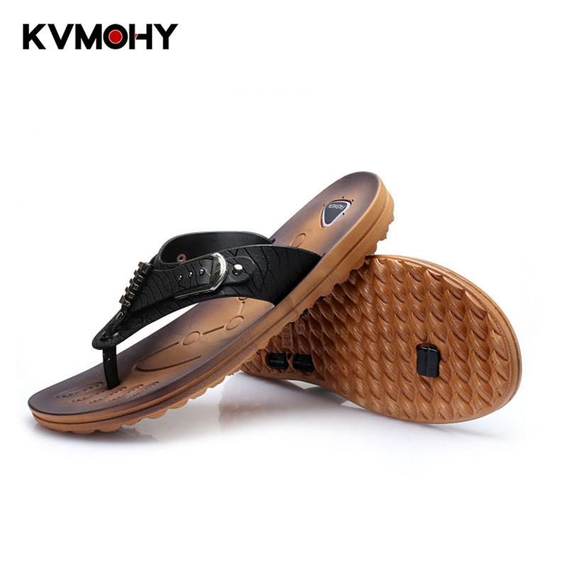 46b7afba1 Flip Flops Slippers Men Summer Fashion Sandals Slippers Cosplay Mens Bench Shoes  Flat Heel Cosplay Flip Flops Shoe Slipper Male Footwear Ladies Shoes From  ...