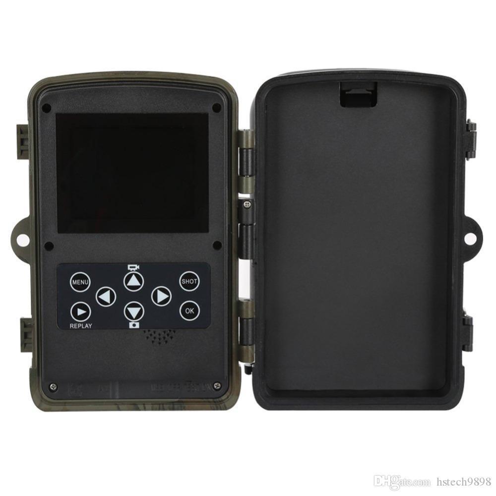 Trail Jagd Kameras Bewegungsmelder Nachtsicht Infrarot 42 Leds Surveillance Wildlife Camera 12MP Wasserdicht IP56