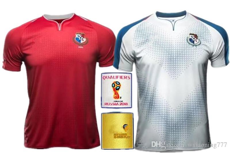 2018 PANAMA Camisetas De Fútbol ENFERMERA 21 GODOY 20 TORRES 5 OVALLE 17  QUINTERO 19 HOME AWAY JERSEY 18 19 RED WHITE FOOTBALL SHIRT Por  Wxiaoning777 b96409409e655