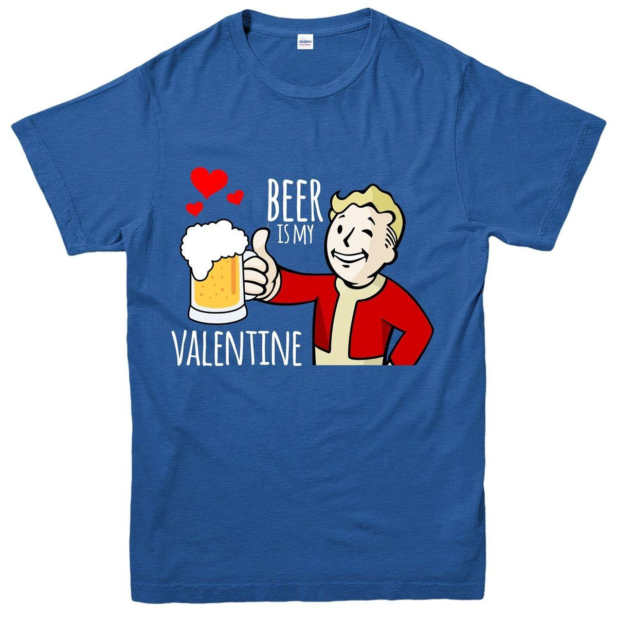 1a5ade201 Beer Is My Valentine T Shirt, Funny Valentines Day Tee Top Men T Shirts  Geek T Shirts From Qz2878193779, $16.24| DHgate.Com