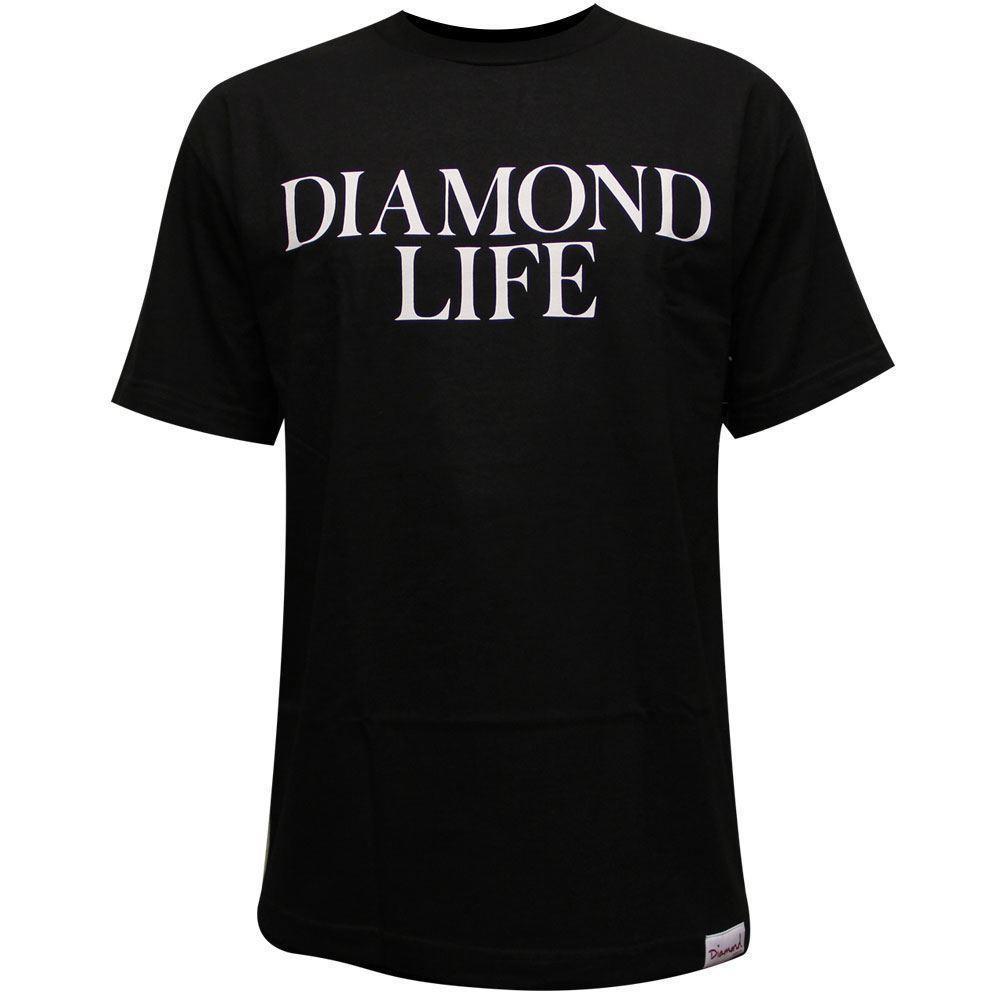Diamond Supply Co Diamond Life T Shirt Black Fashion T Shirts Print Shirt  From Dizzykittenstore 9a0a67e73