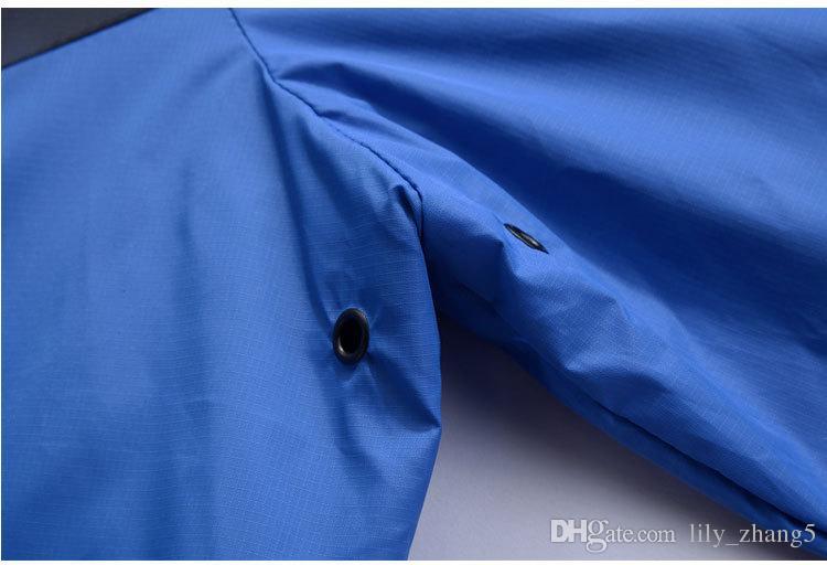 Toptan -Weatshirt Hoodie Erkek Kadın Rüzgarlık Ceket Ceket Uzun Kollu Sonbahar Spor Fermuar Windcheater Tasarımcı Erkek Giysileri