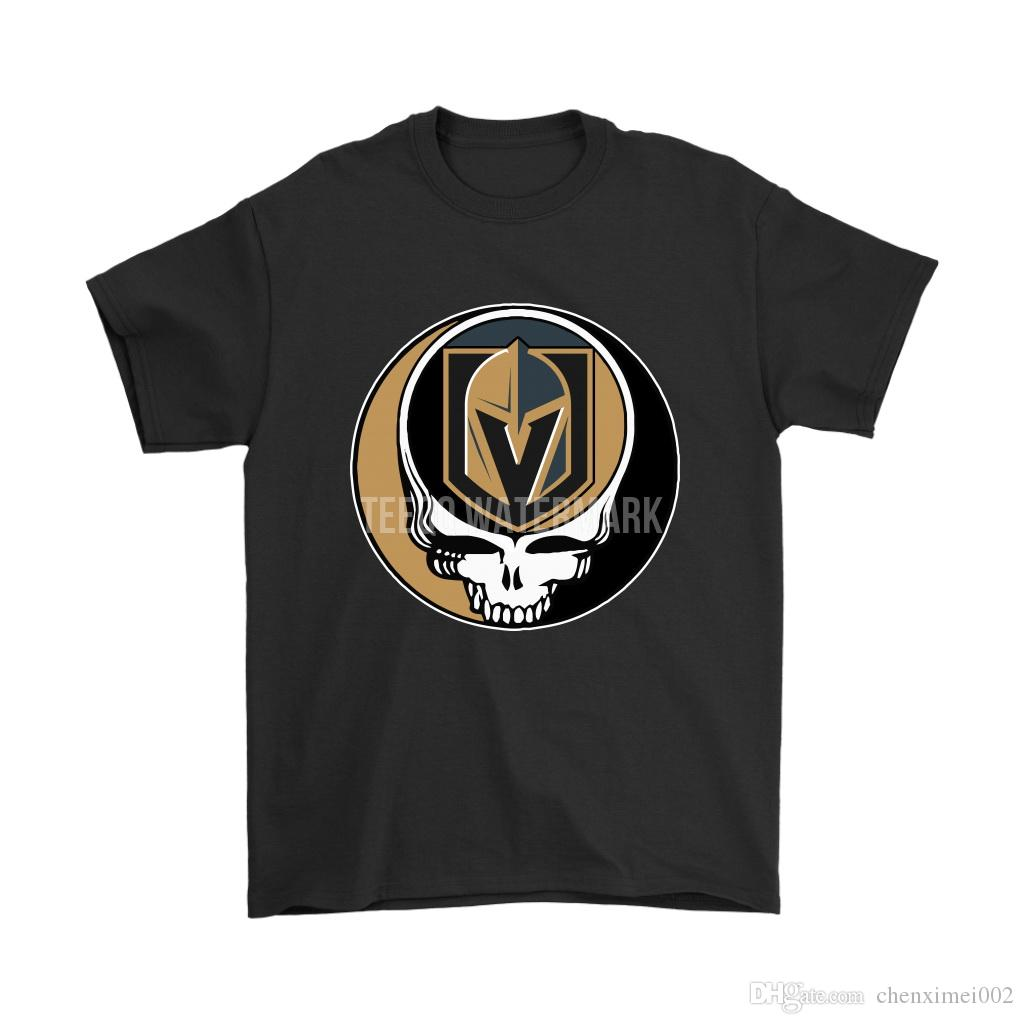 new products 0edde 1f117 NHL Team Vegas Golden Knights x Grateful Dead Logo Band Shirts