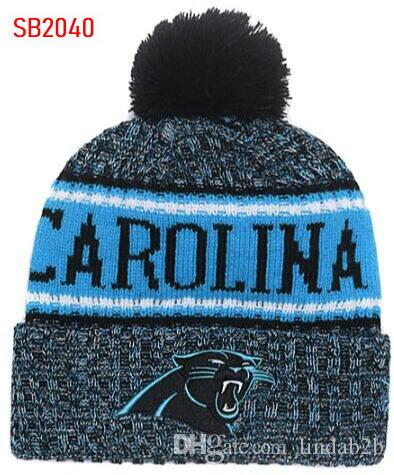 2019 2019 Team Panthers Beanies Caps Pom Sports Hat Men Women 32 Teams All  Caps In Stock Knitted Hat Top Quality Hat More 5000+Styles From Lindab2b e8148cae871