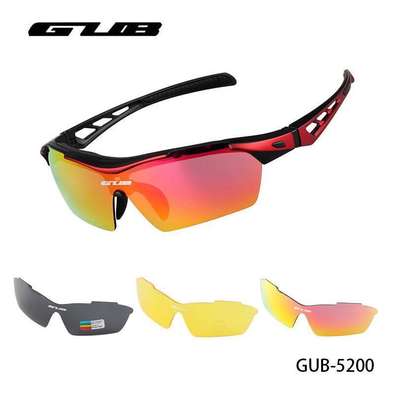f0f35acc93d GUB Polarized Cycling Glasses Sports Sun Eyewear Road Bicycle MTB ...
