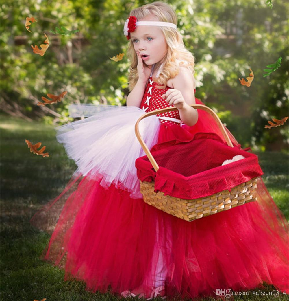 d7a823d71e9 2018 new Little Red Riding Hood Costume Costume / Children s Day cos  performance costumes / children in the stage costume